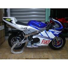 New Pocketbike CBU Fiat Blue Rims