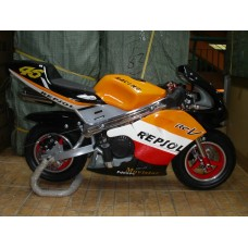 New Pocketbike CBU Repsol Red Rims