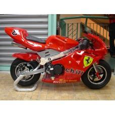 New Pocketbike Ready to Ride Ferrari Black Rims