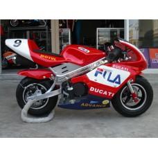 New Pocketbike Ready to Start Ducati Black Rims
